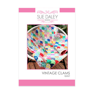 Vintage Clams Quilt Pattern