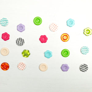 Mixed Button 20 pack