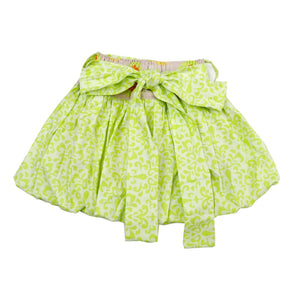 Bubble skirt lime