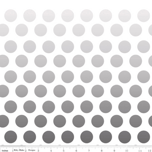 Ombre Dots Gray