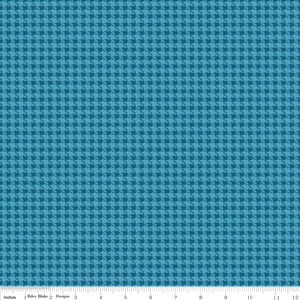 Blue Round Up Houndstooth 1.25m