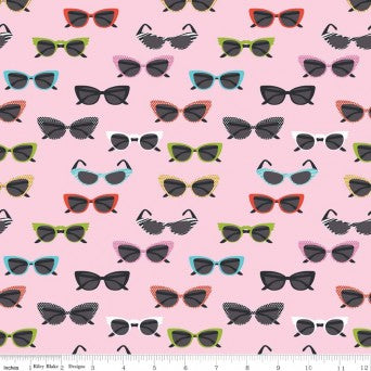 Novelty Glasses Pink