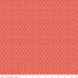 Sundance Geometric Red