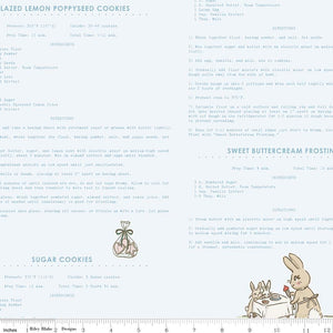 Bunnies & Cream Recipes Blue