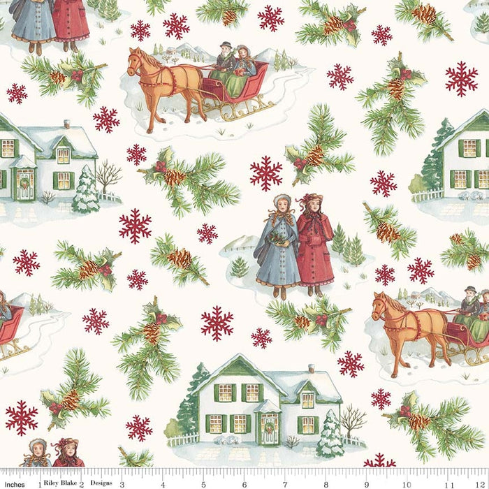 Anne of Green Gables Christmas Red Main