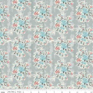 Abbie Fabric C7711 Gray