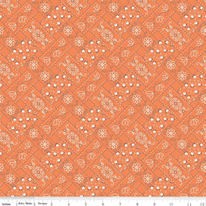 Farm Girl Vintage Bandana Orange