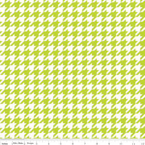 Houndstooth Lime