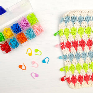crochet stitch/row marker pack