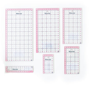 Cute Cut Rectangle Rulers Set of 6