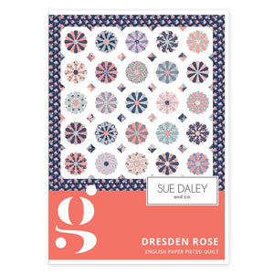 Dresden Rose Fabric Quilt Kit