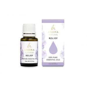 Aroma Natural Relief Essential Oil Blend 15mL