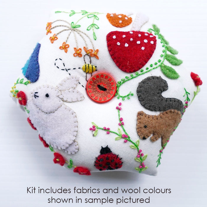Forest Friends Pincushion Kit