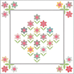 Forest Flowers Quilt Pattern