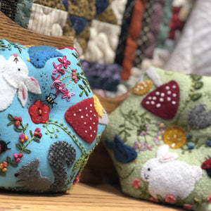 Forest Friends Pincushion Pattern