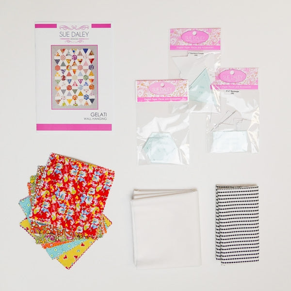 Gelati Wall Hanging Fabric Kit