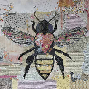 Honey Bee Collage