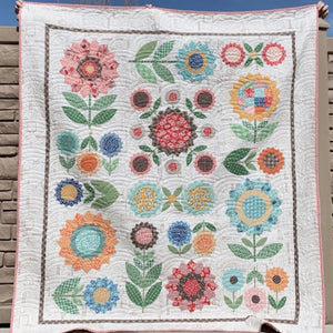 Flea Market Flowers Sew Along Quilt Kit