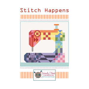Stitch Happens Fabric Kit - FREE BACKING