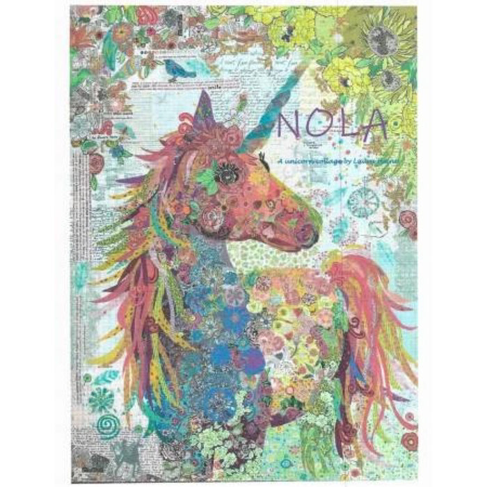 Nola A Unicorn Collage