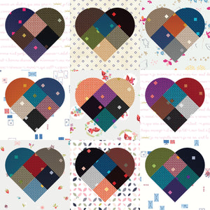 Heartland Wall hanging Fabric Kit