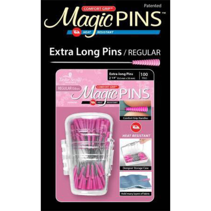 Tailor Made Magic Pins - Extra Long 100pc