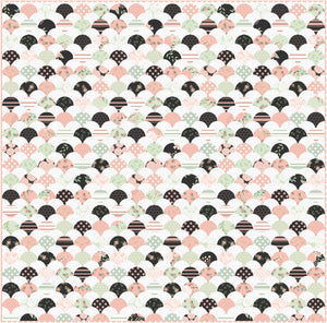 Bliss Clams Quilt Fabric Kit