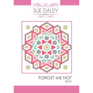Forget Me Not Quilt Pattern