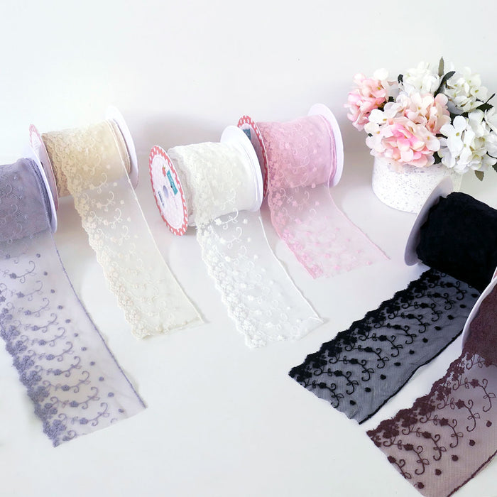"6"" Decorative Lace - various colours"