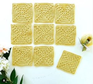 Lattice Blanket Crochet Kit