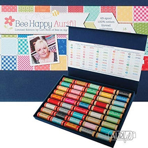 Bee Happy Limited Edition Aurifil Thread Case