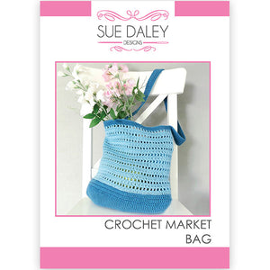 Crochet Market Bag Printed Pattern