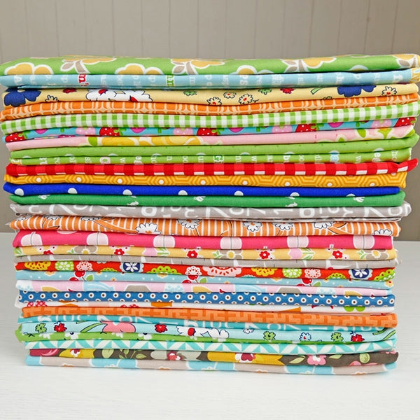 Mixed fabric bundle 30 x 1m