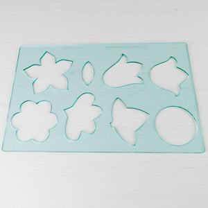 Applique Flower Template