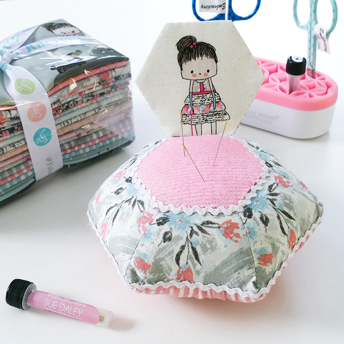 Pincushion Surprise Pattern by Sue Daley Designs