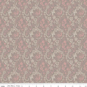 C5112 Beaujolais Floral Gray