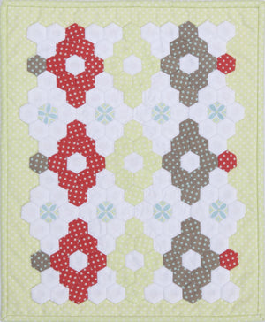 Hexagons Little Things Wall Hanging