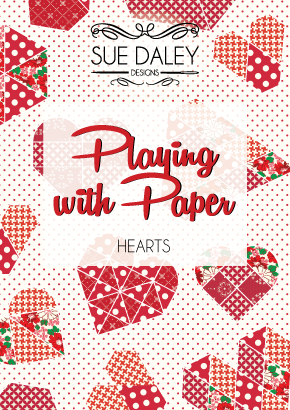 Playing With Paper Booklet - Hearts