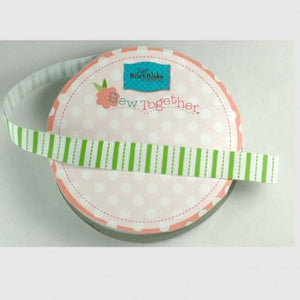 "5/8"" Stripes Grosgrain Ribbon - Various Designs"