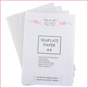 Template Paper A4 x 3 sheets
