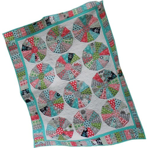 Tick, Tock, Tumble Quilt Kit