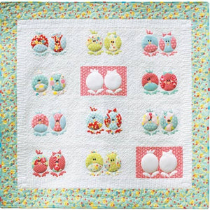 Chicken & The Egg Quilt Pattern