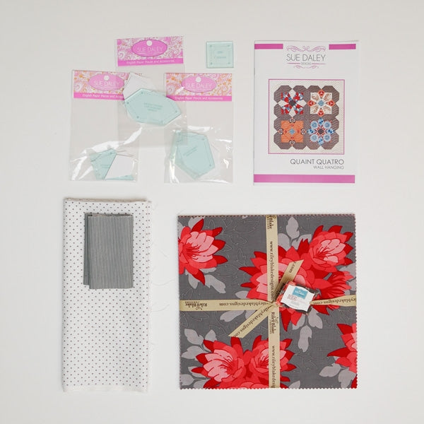 Quaint Quatro Fabric Kit