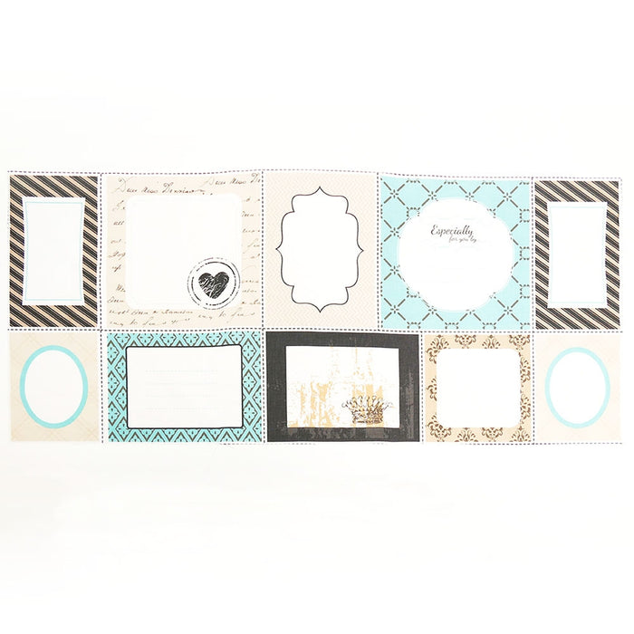 Quilt Labels - Blue Pack of 10