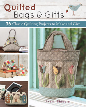 Quilted Bags & Gifts Book Cover
