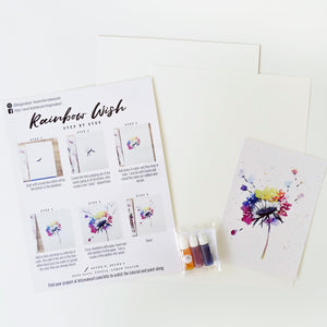 Rainbow Wish Watercolour Kit