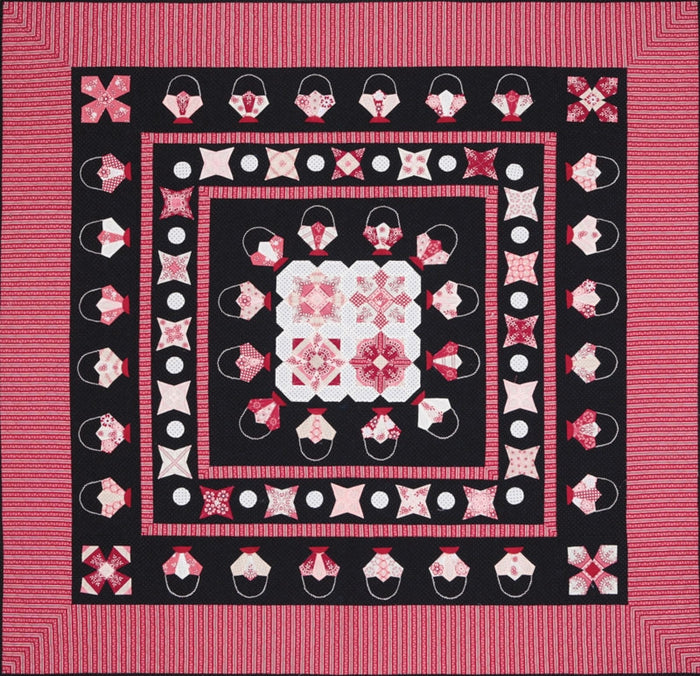 Raspberry Licorice Quilt Pattern