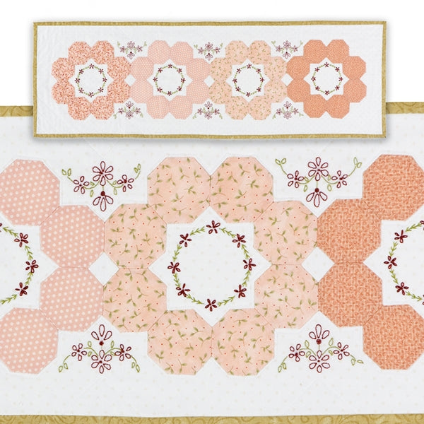 Ring of Roses Table Runner