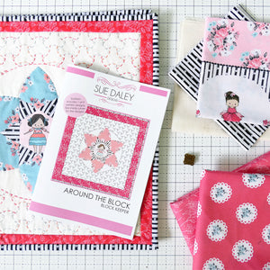 Around the Block Keeper Fabric Kit