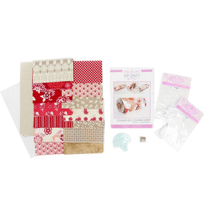 Clamshell Sewing Keep Fabric Kit